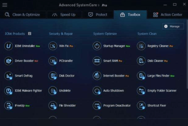 iobit advanced system care 9