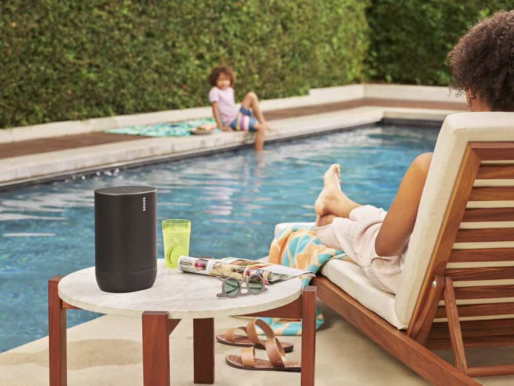 sonos move pool party